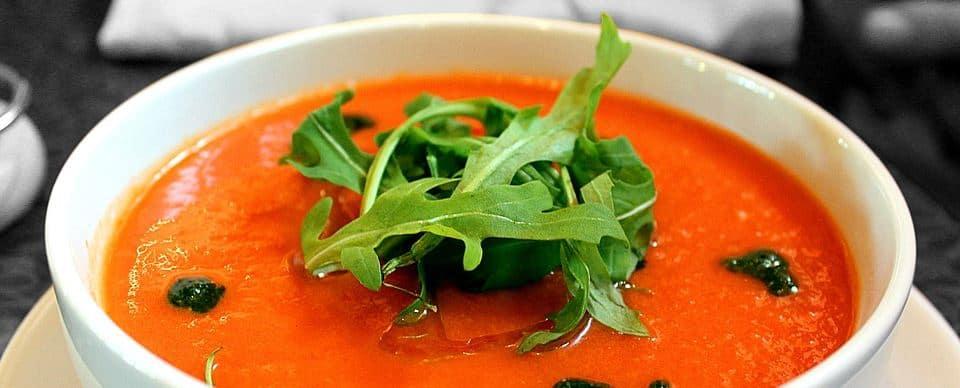 zelf gemaakte soep