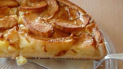 koolydraatarme appeltaart