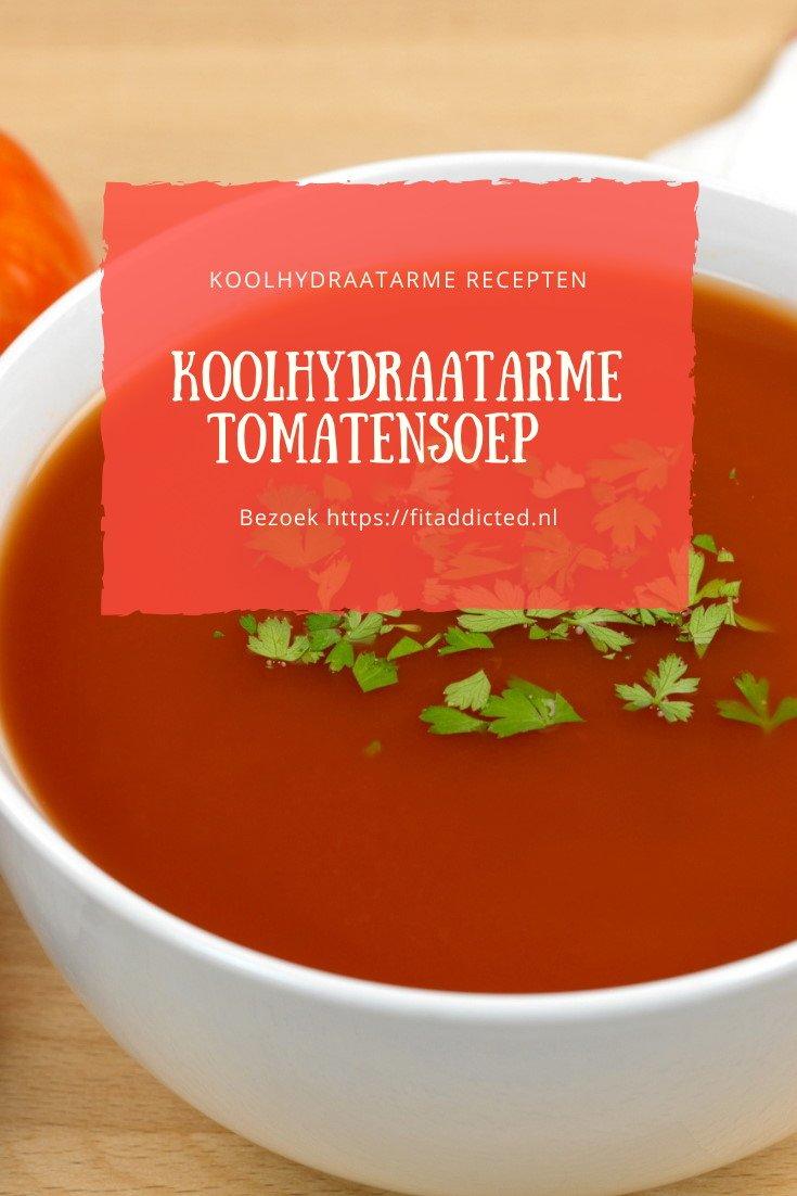 Koolhydraatarme tomatensoep recept