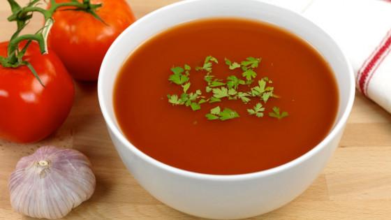 koolhydraatarme tomatensoep