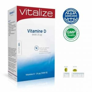 het beste vitamine d supplument vitalize vitamine d 25 UG
