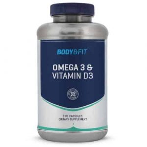 het beste vitamine d supplement omega3 - vitamine d3 van bodyfit