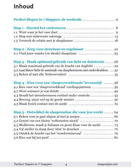 Perfect Slapen in 7 Stappen PDF