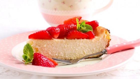koolhydraatarme cheesecake