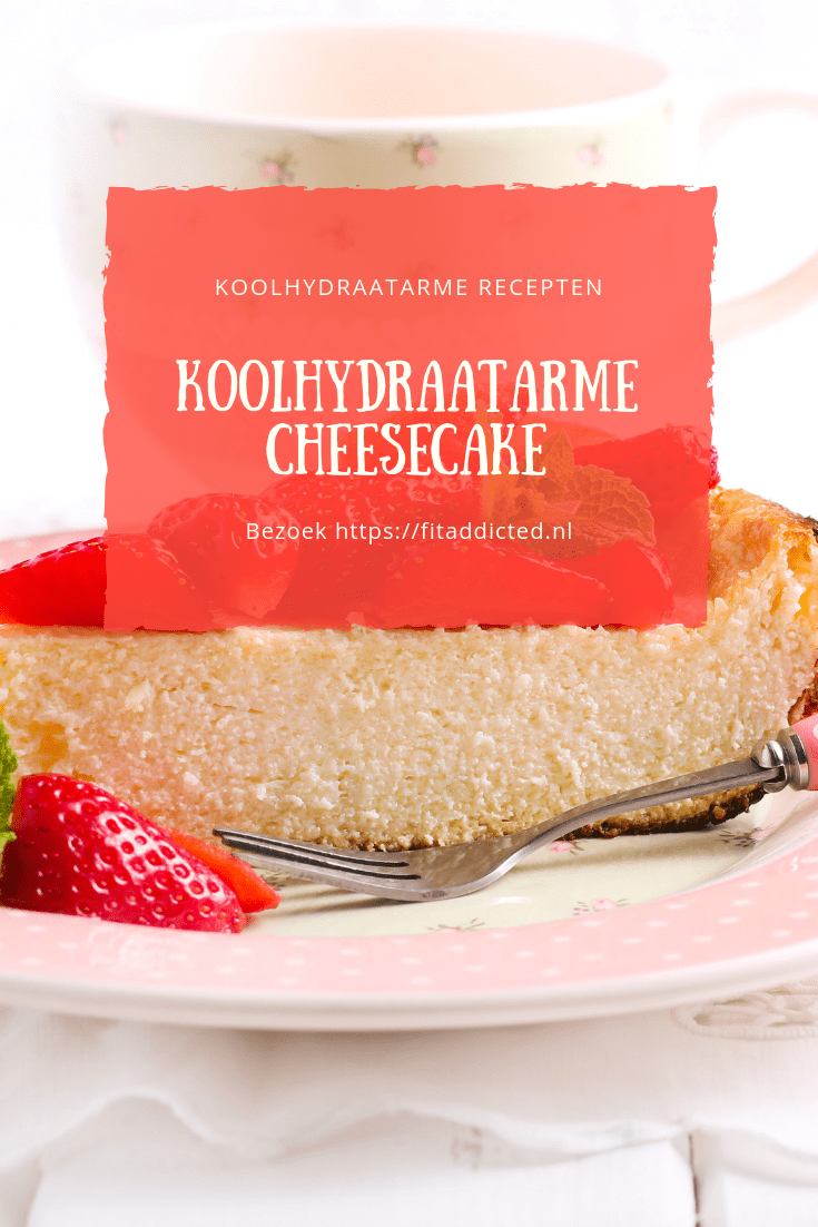 koolhydraatarme cheesecake