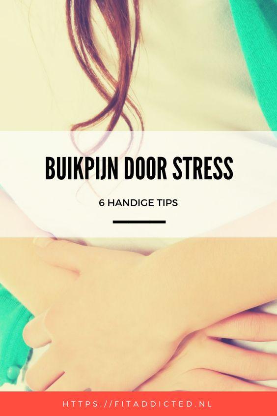 buikpijn door stress