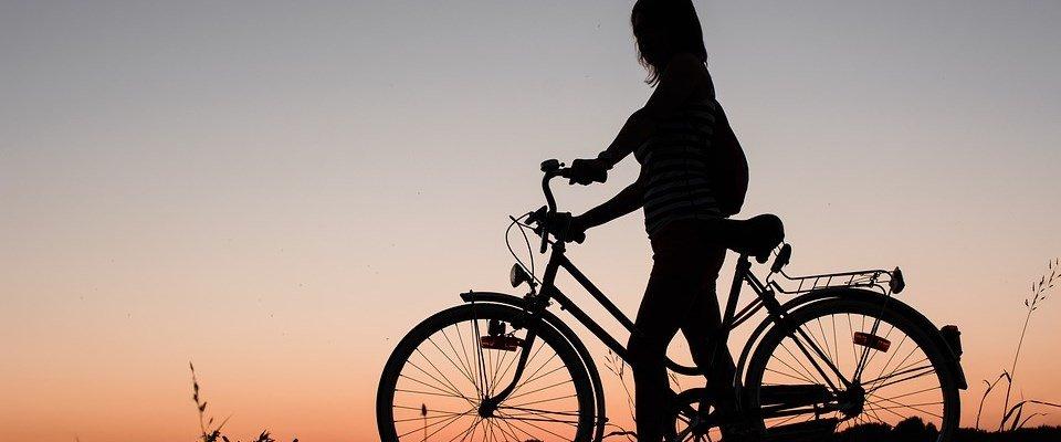fietsen is ook een oefening om te ontspannen bij stress