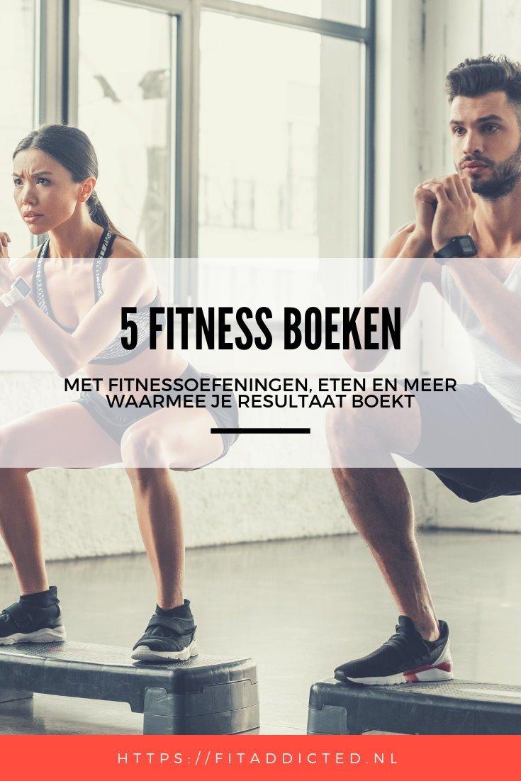 De 5 beste fitness boeken voor vrouwen en mannen