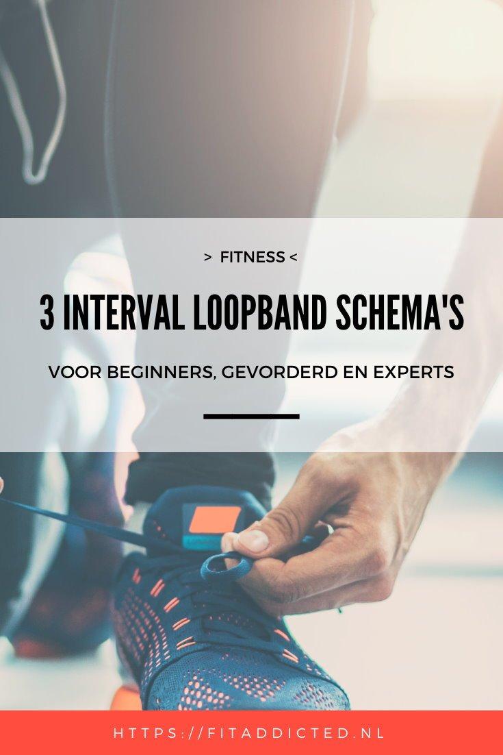 3 interval loopband schema's voor beginners, gevorderde en experts