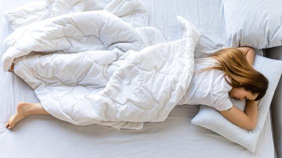 slapen zonder ondergoed