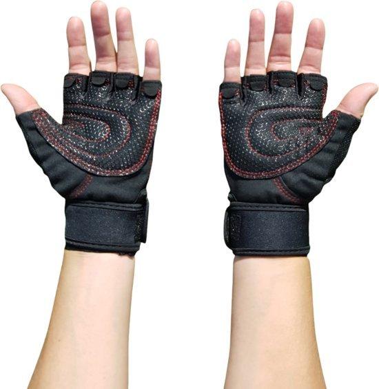 awemoz fitness handschoenen met polsondersteuning