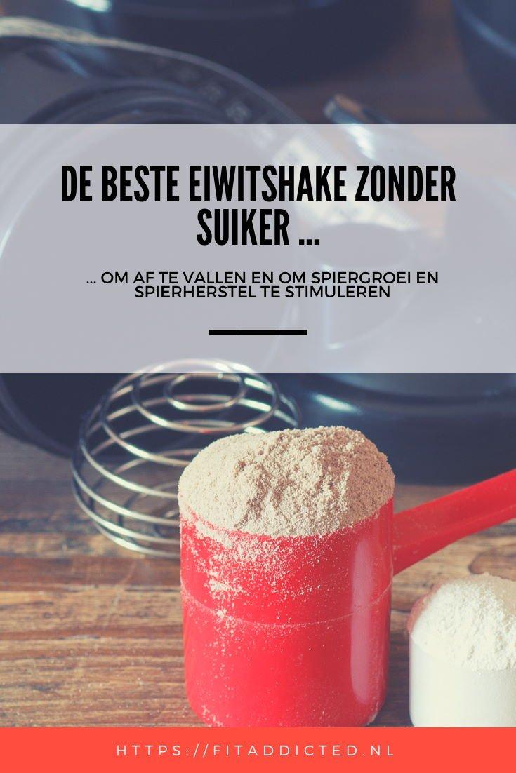 beste eiwitshake zonder suiker