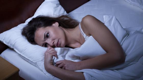 moeilijk in slaap komen