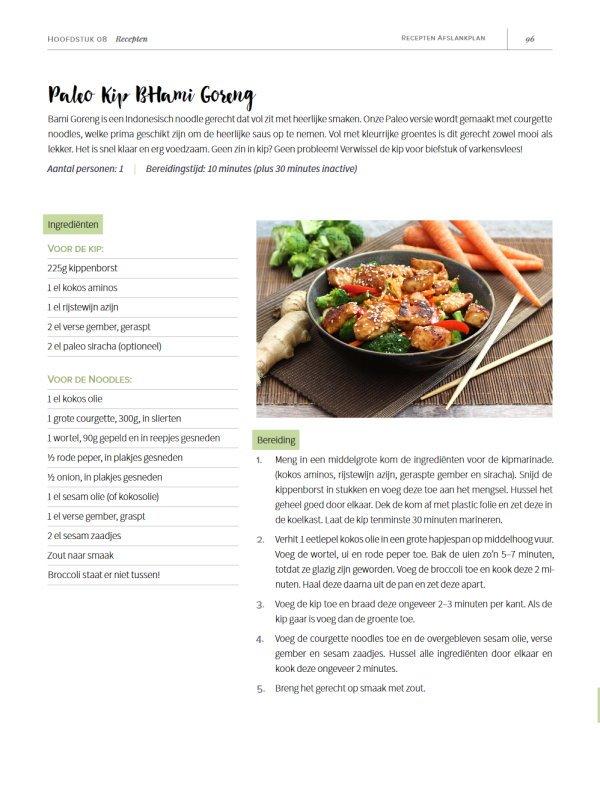 Recepten Afslankplan PDF