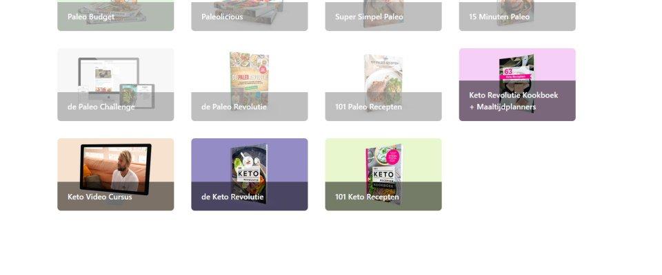 elkehaptelt.nl ledenomgeving 101 keto recepten en keto revolutie