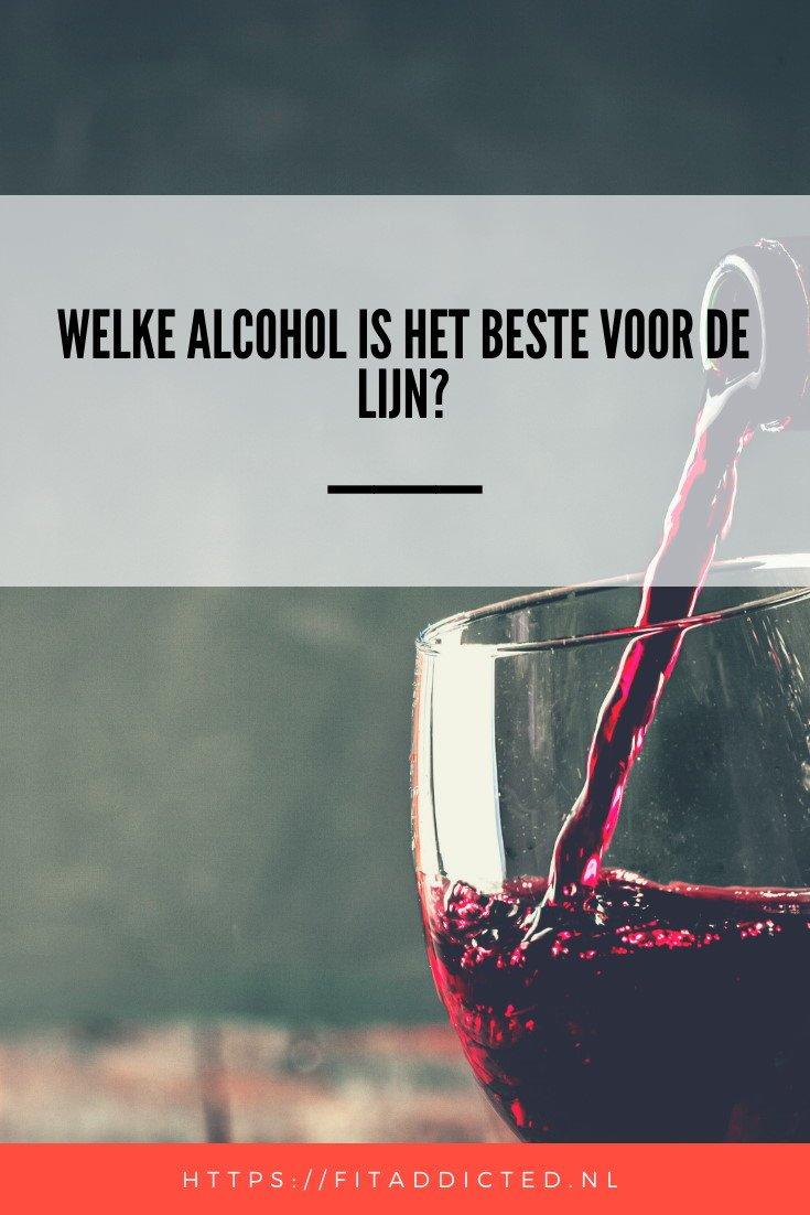 welke alcohol is het beste voor de lijn?
