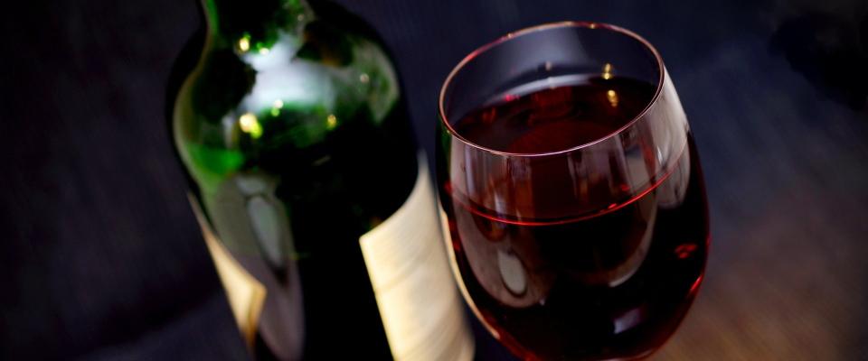 rode wijn kun je met mate drinken wanneer je wilt afvallen.