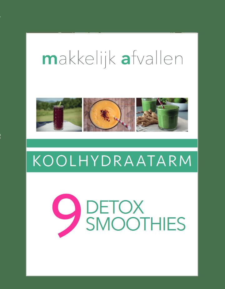 9 detox smoothies makkelijkafvallen.eu