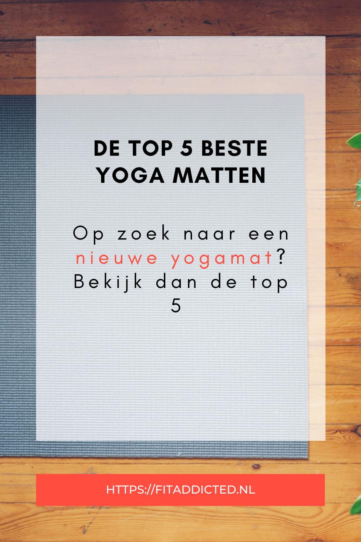 De beste yogamatten van dit moment