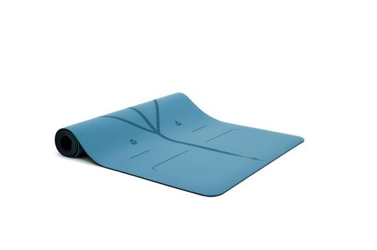 Liforme yogamat met een dikte van 4 mm is één van de beste yogamatten