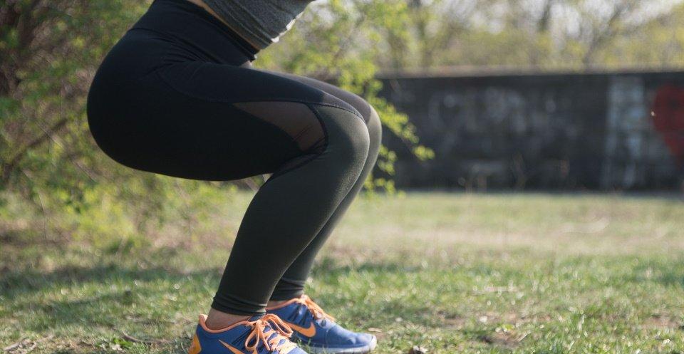 squat oefeningen thuis