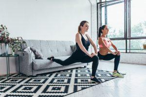 Hamstring oefeningen voor thuis